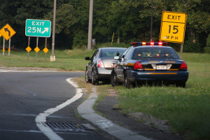 NYS Police Traffic Stop by dwightsghost
