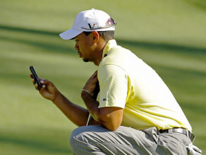 Tiger Woods on The Cellphone