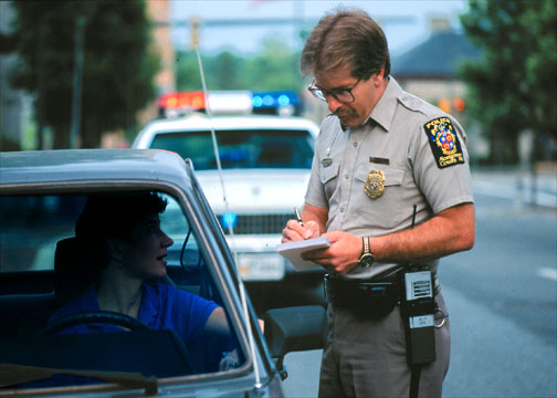 What to do when getting pulled over by the policeGetting Pulled Over