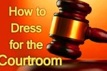 dress for success in court